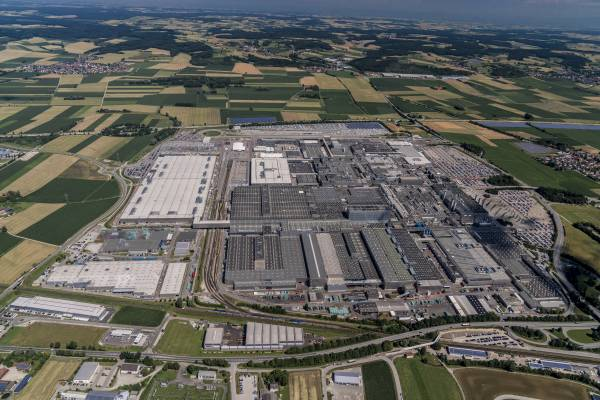 Aerial View Of Bmw Group Plant Dingolfing 04 2017
