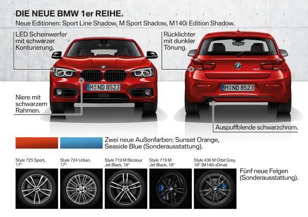 Spiksplinternieuw Die neue BMW 1er Reihe. IB-66
