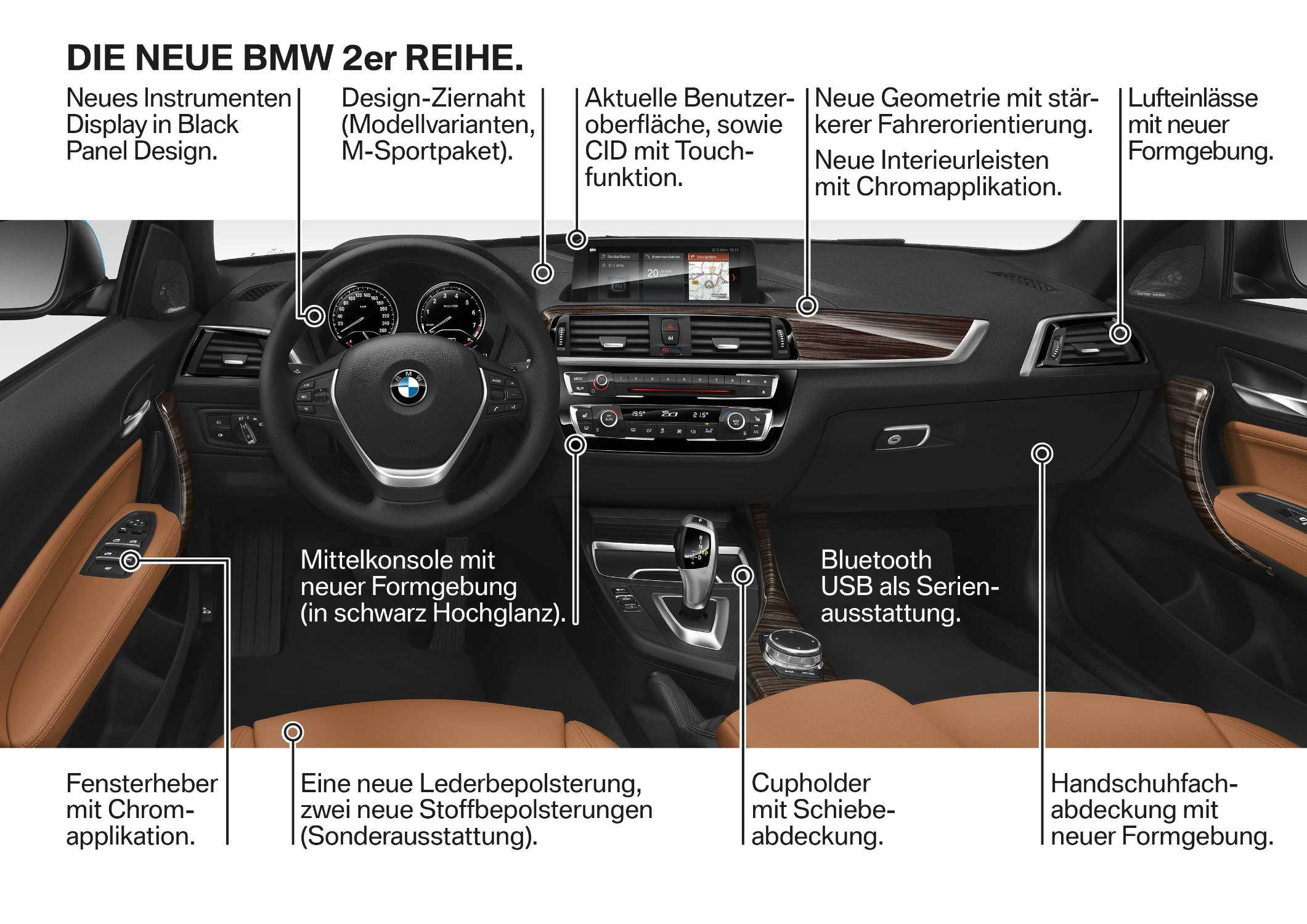 Die neue BMW 2er Reihe, Highlights (05/2017).