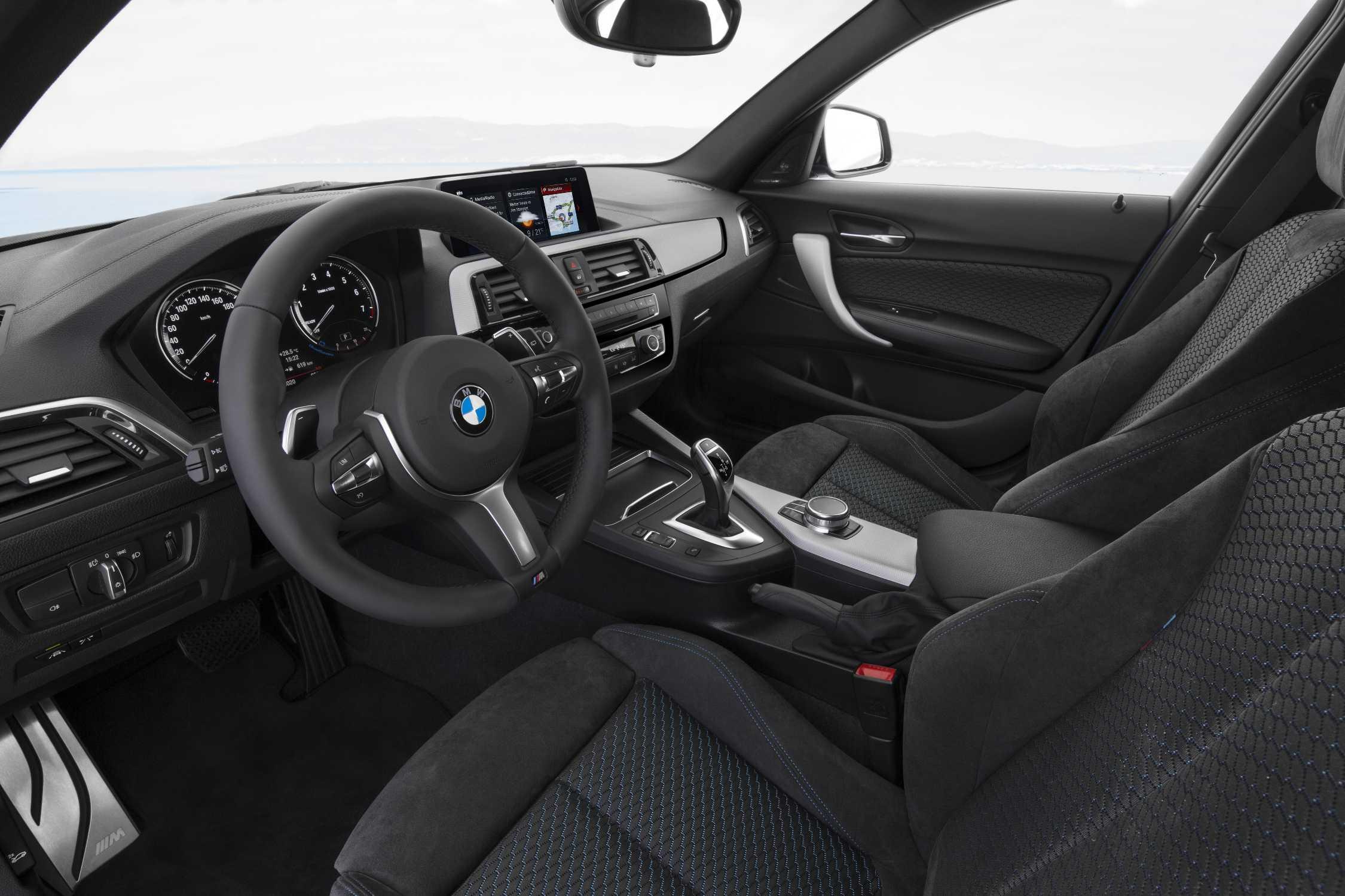 The New Bmw 1 Series Interior 05 2017