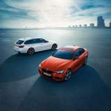 BMW 3 Series Sedan, Edition M Sport Shadow and BMW 3 Series Touring, Edition M Sport Shadow (05/2017).