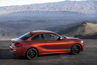The new BMW 2 Series Coupe (05/2017).