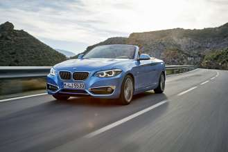 The new BMW 2 Series Convertible (05/2017).