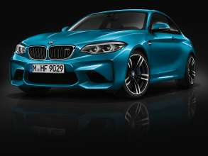 The new BMW M2 Coupe (05/2017).