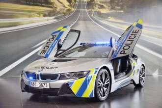 Handover of BMW i8 to Czech Police. (05/2017)