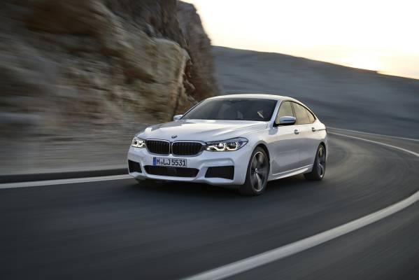 BMW 6er Gran Turismo, 640i xDrive, Mineralweiß, M Sportpaket (06/2017).