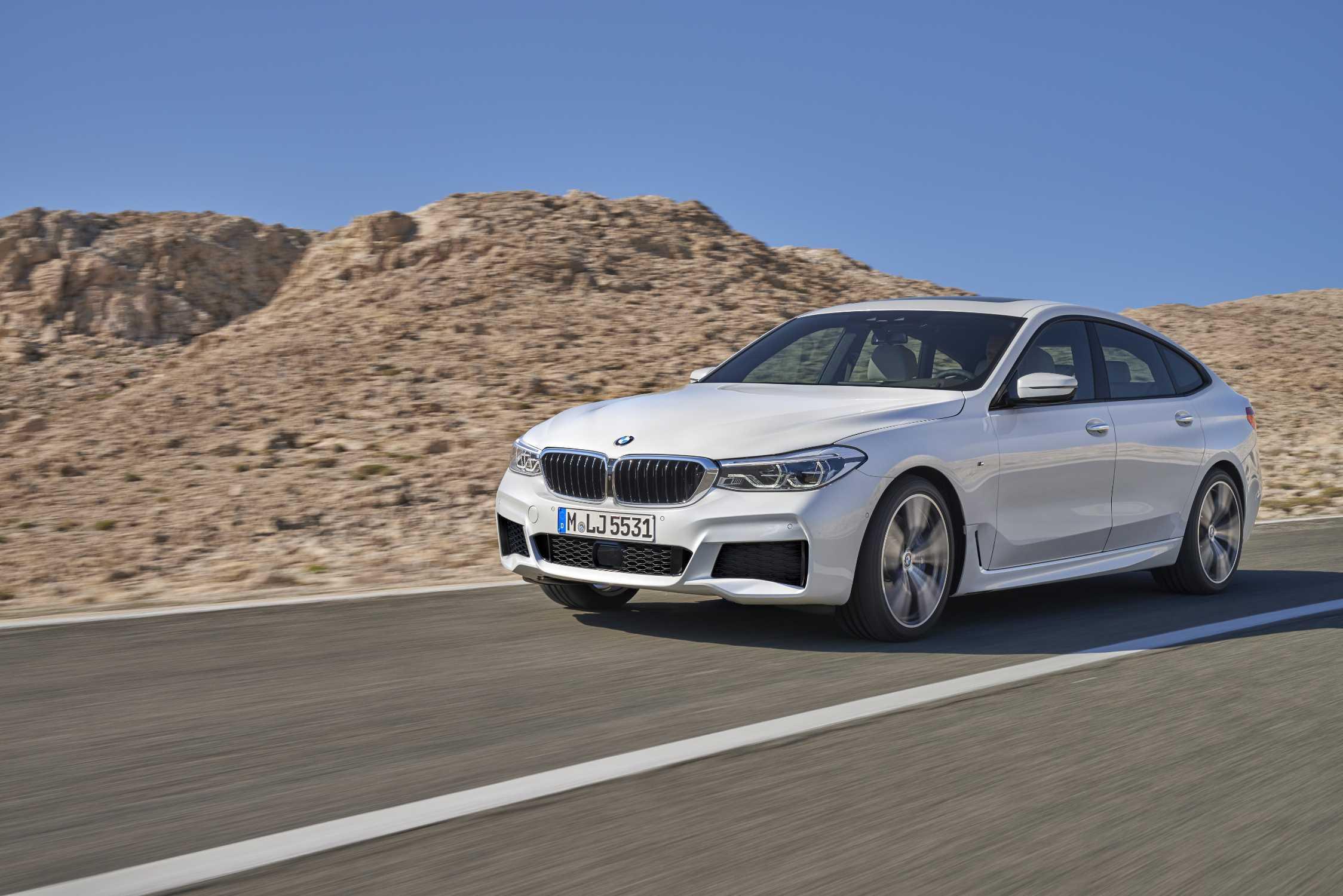 BMW 6 Series Gran Turismo, 640i xDrive, Mineral white, M ...