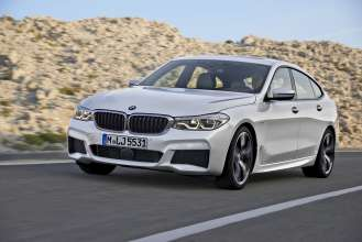 BMW 6 Series Gran Turismo, 640i xDrive, Mineral white, M Sport Package (06/2017).