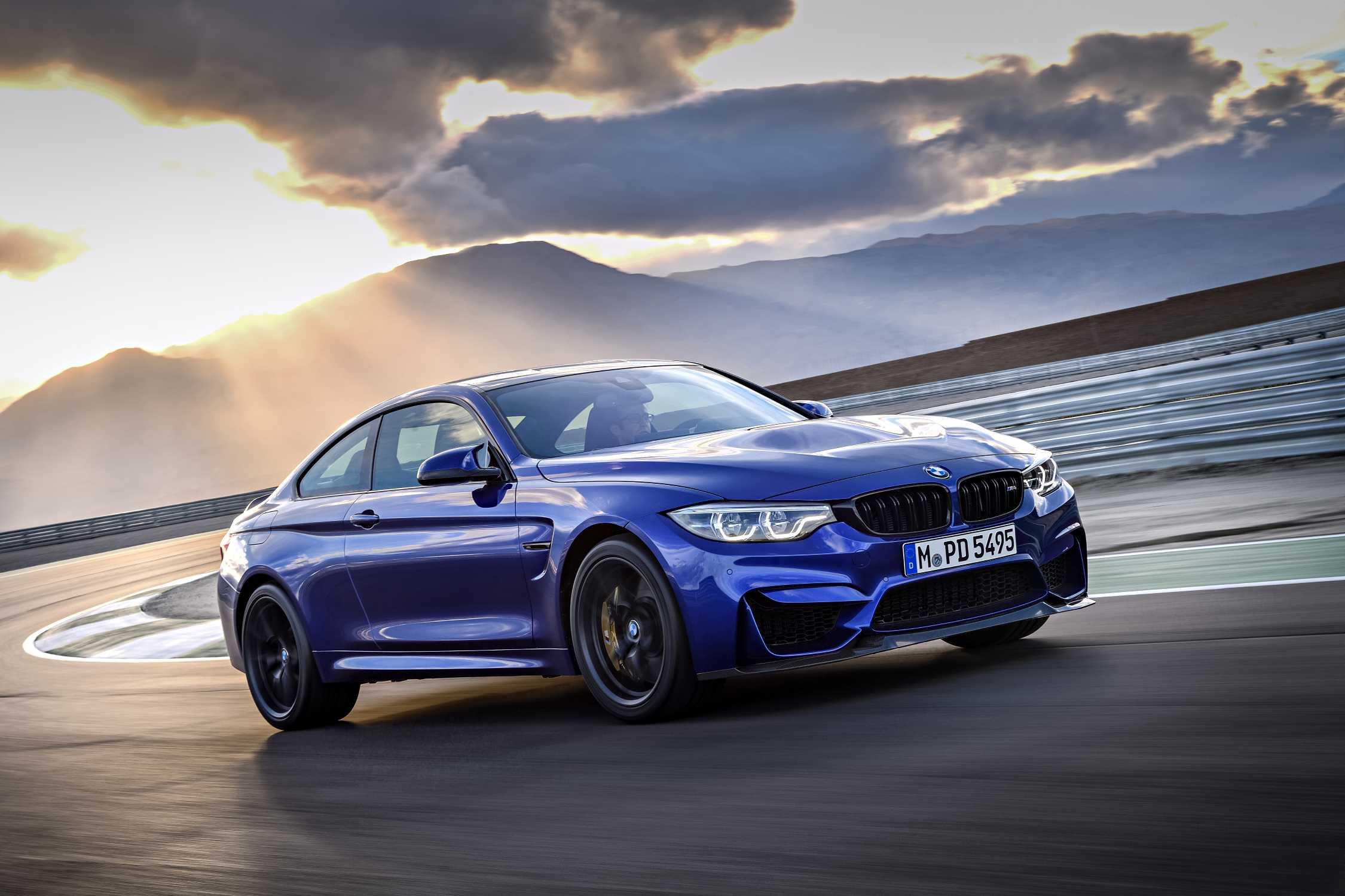 BMW M CS San Marino Blue Metallic - Blue bmw