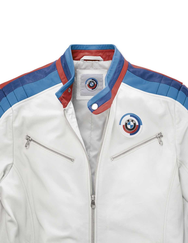 BMW Motorsport Heritage Leather Jacket, men (062017).