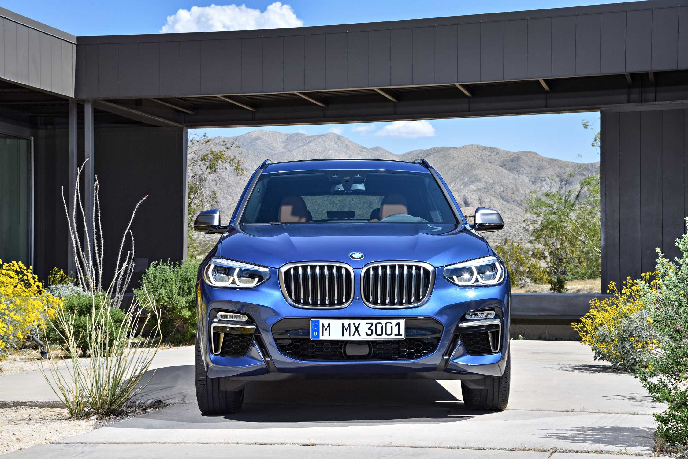 The new BMW X3 xDrive M40i (Exterior color: Phytonic Blue ...