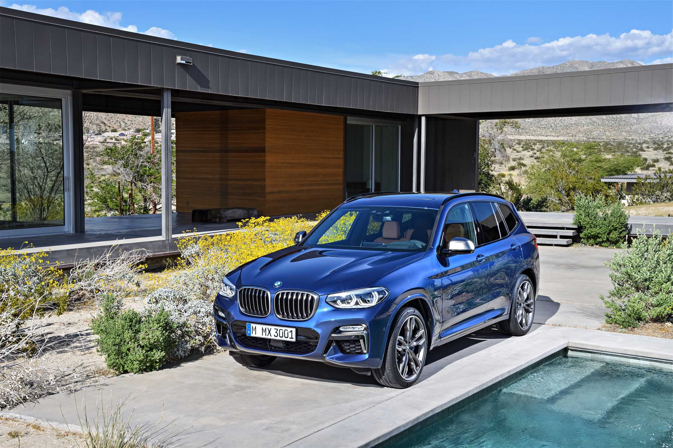 2018 X3 Vs X5 >> The new BMW X3 xDrive M40i (Exterior color: Phytonic Blue metallic, upholstery: Leder Vernasca ...