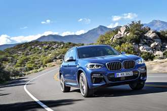 The new BMW X3 M40d (05/2018).