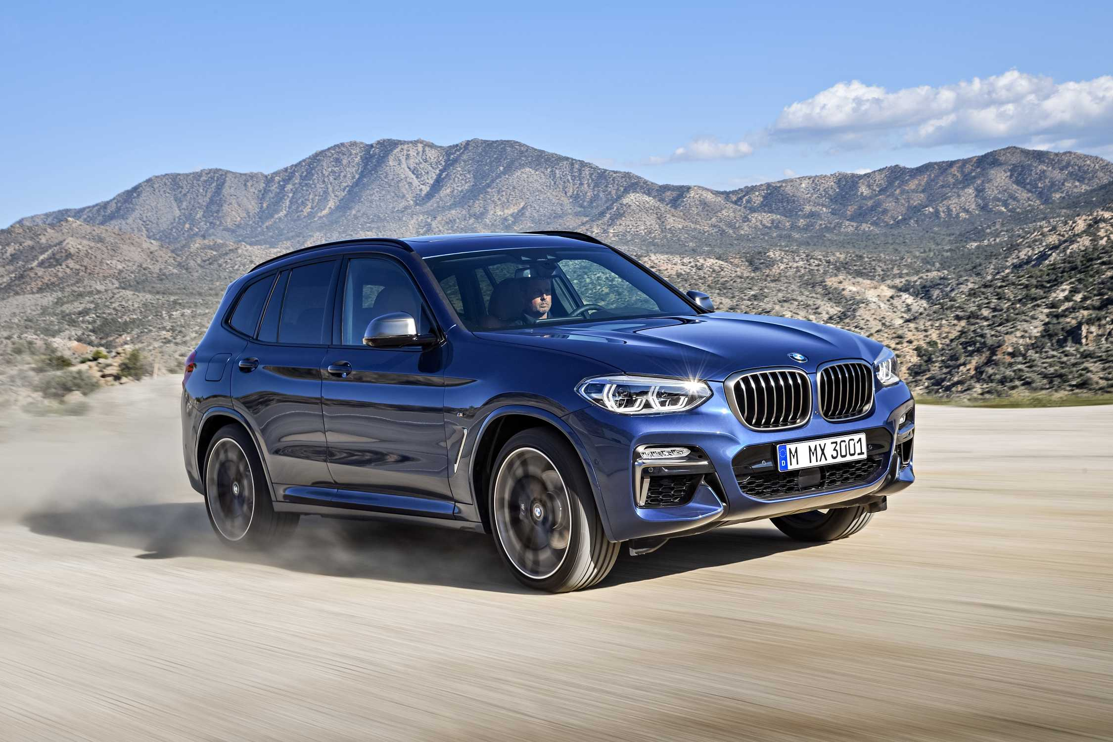 The New Bmw X3 Xdrive M40i Exterior Color Phytonic Blue
