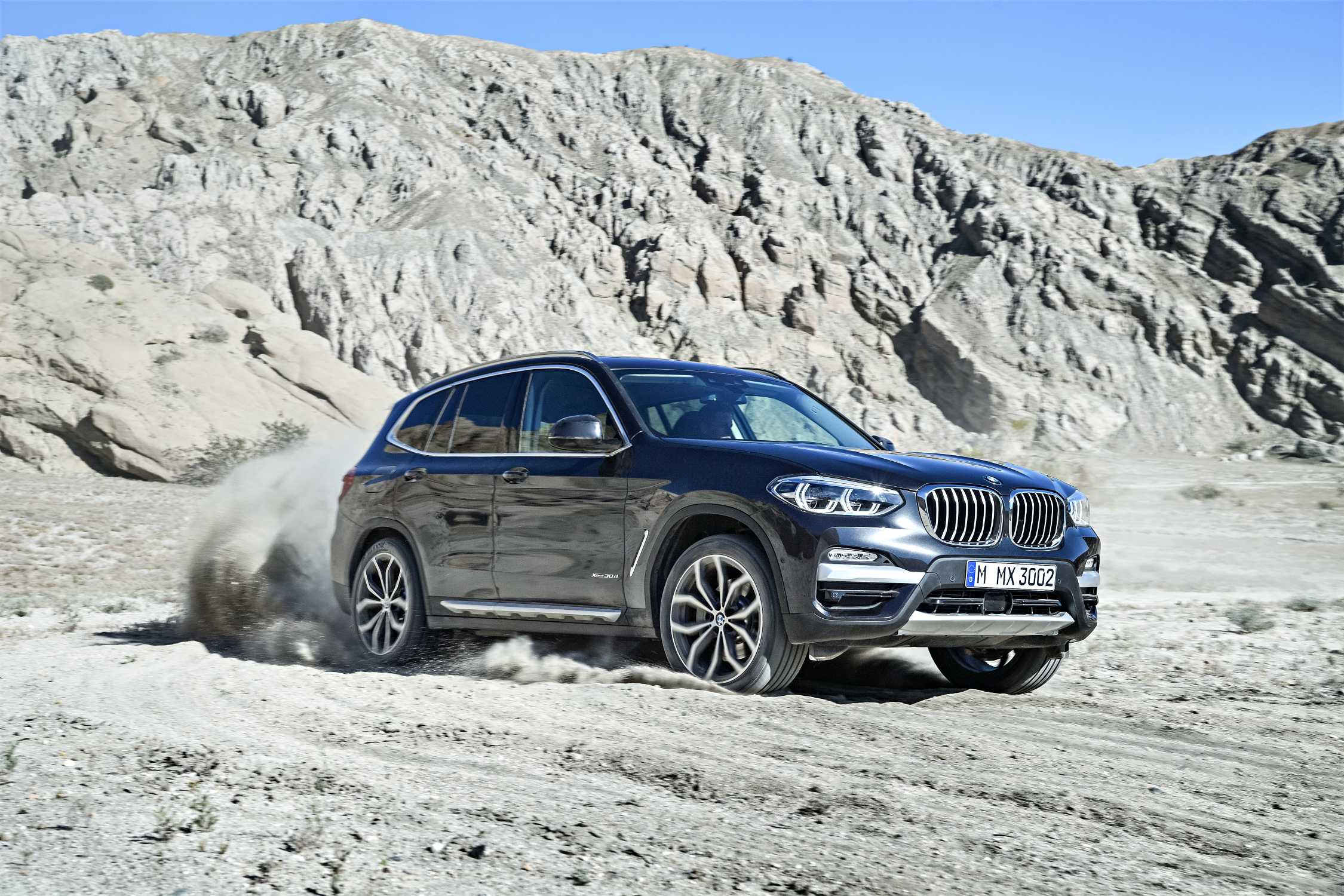 the new bmw x3 xdrive30d with xline exterior color sophisto grey metallic upholstery leather. Black Bedroom Furniture Sets. Home Design Ideas