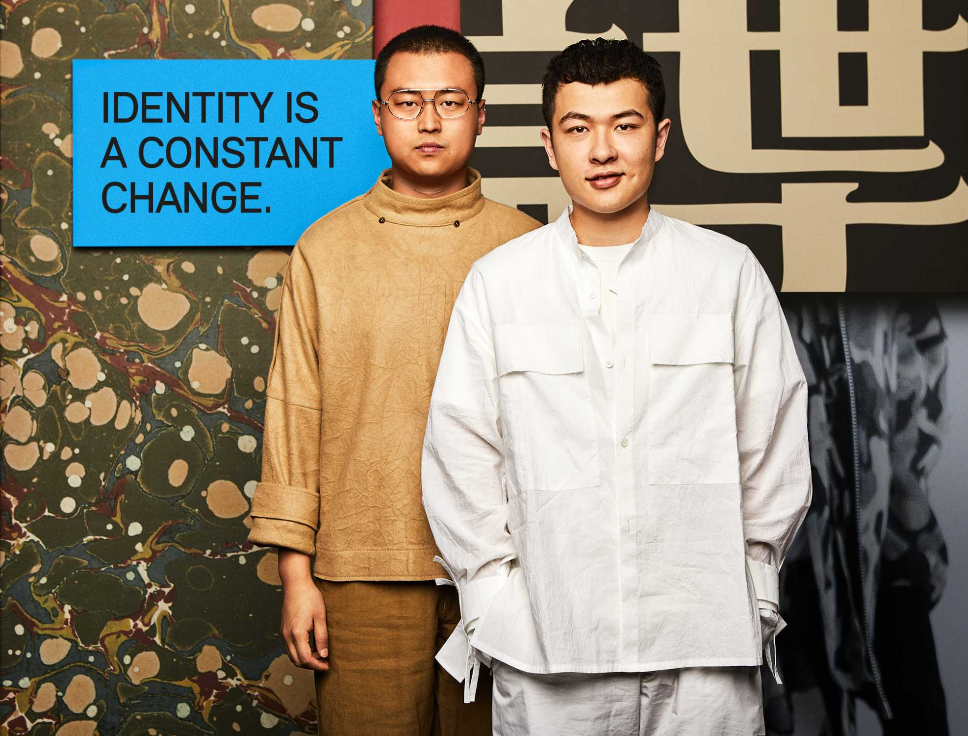 Designers Mini Fashion Beyond Native From Left Yushan Li And Jun Zhou Pronounce 06 17