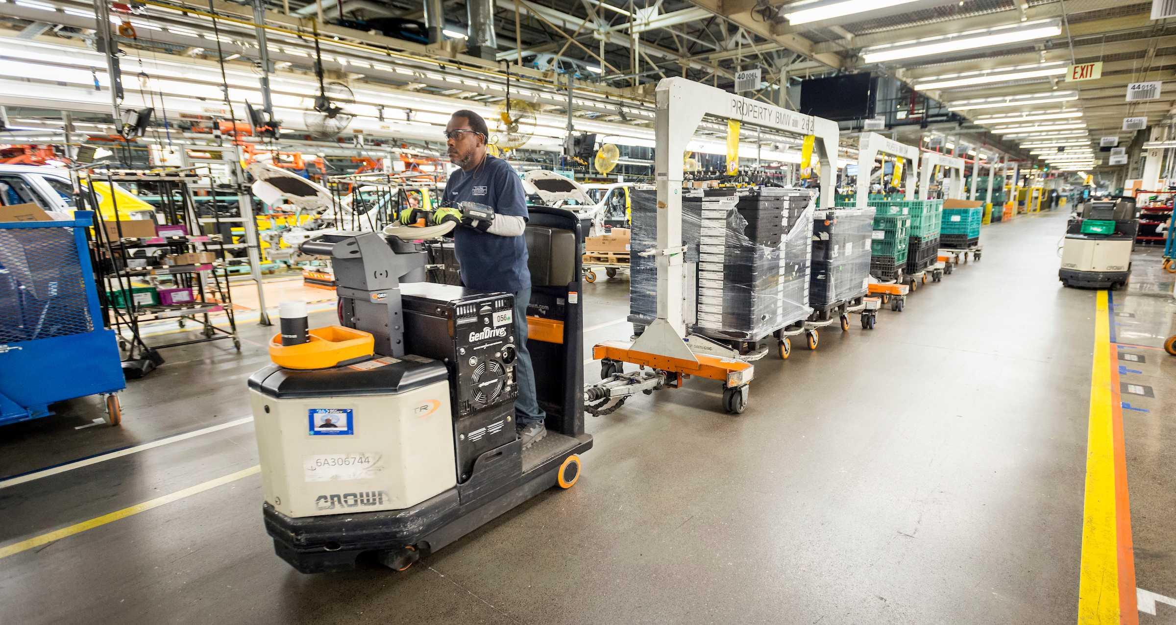 BMW Plant Spartanburg >> Bmw Group Plant Spartanburg Logistics 06 2017