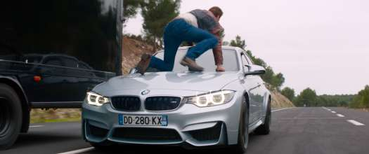 "Hollywood star Scott Eastwood and the BMW M3 in ""Overdrive"". (06/2017)"