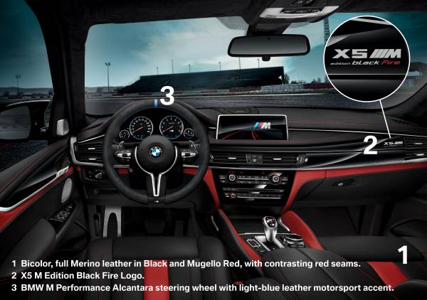 Black Fire Edition BMW X5 M and X6 M Revealed