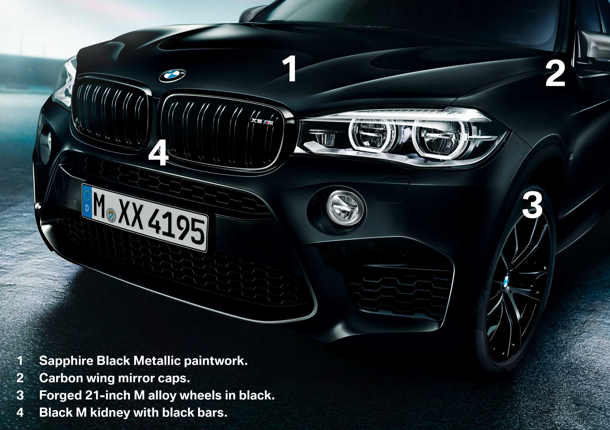 The new BMW X5 M and BMW X6 M Edition Black Fire (06/17).