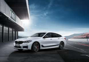 The new BMW 6 Series Gran Turismo with BMW M Performance Parts (07/2017).