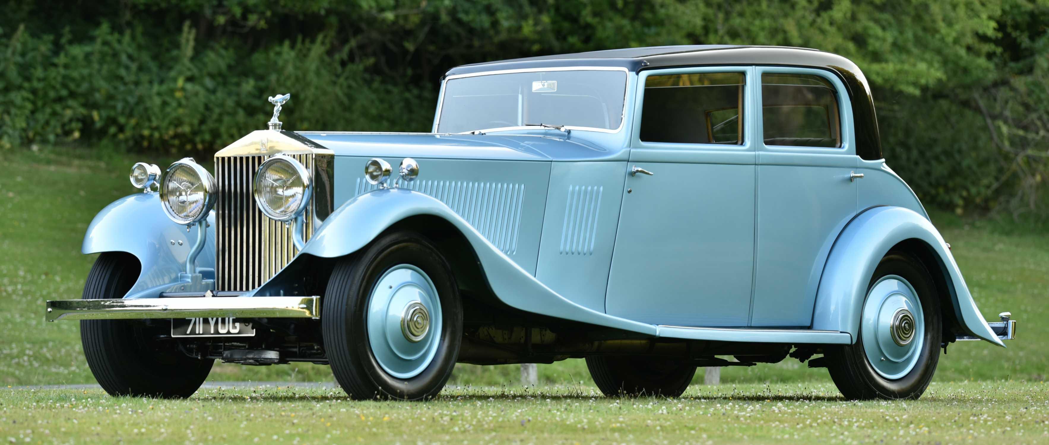 1933 ROLLS-ROYCE PHANTOM II FRONT 3/4