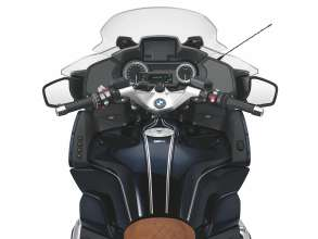 BMW R 1200 RT in special paint finish Blueplanet metallic with Option 719 seat (07/2017)