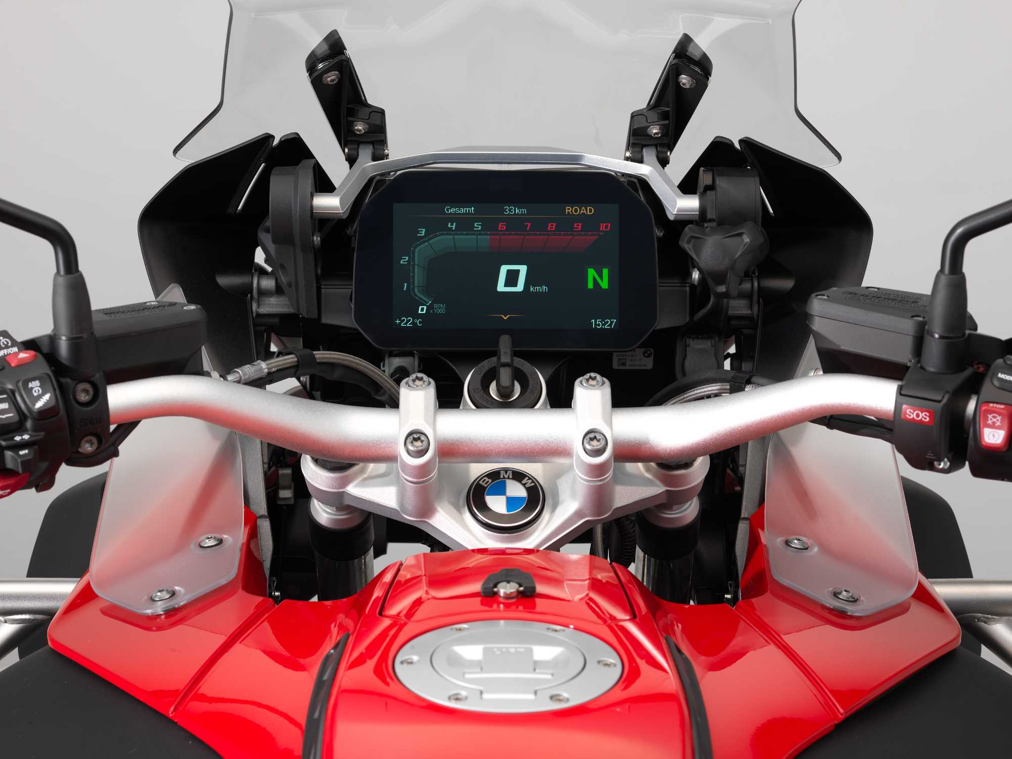 bmw motorrad bringt sonderausstattung connectivity multifunktionale instrumentenkombination mit. Black Bedroom Furniture Sets. Home Design Ideas