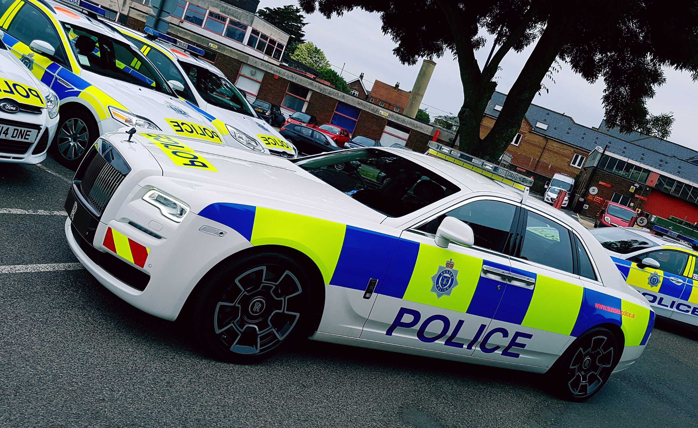 ROLLS ROYCE MOTOR CARS SUPPORTS SUS POLICE AT THE EVER POPULAR