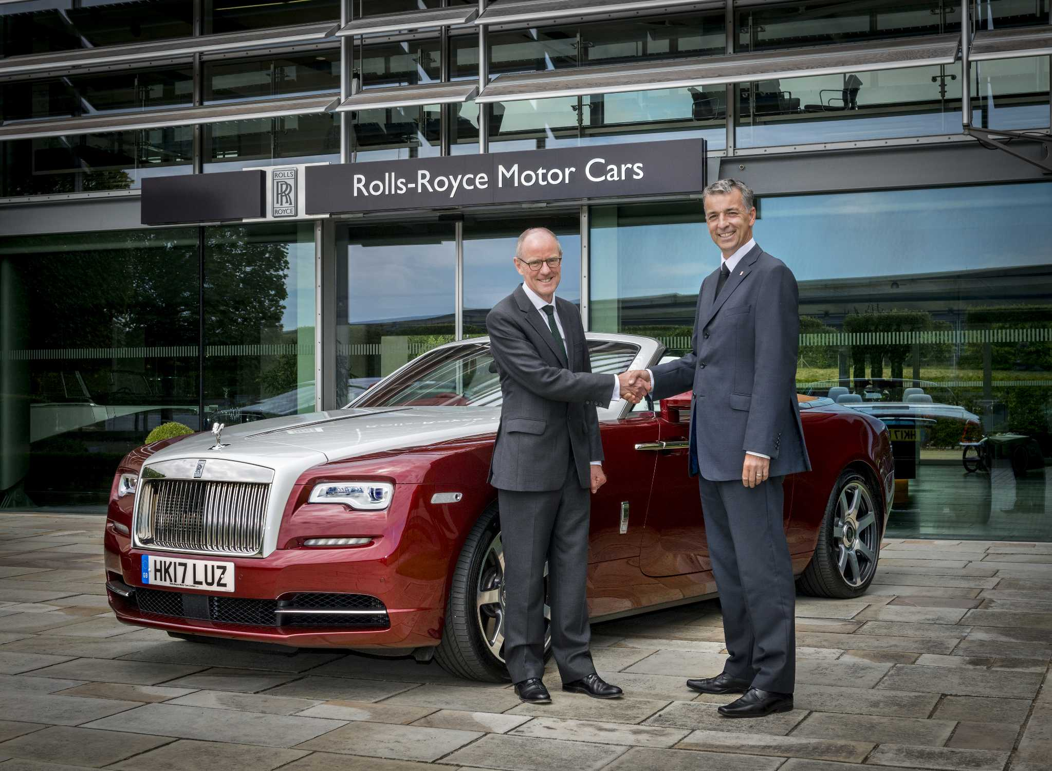 Rolls royce motor cars supports local mp s read to for Rolls royce motor cars