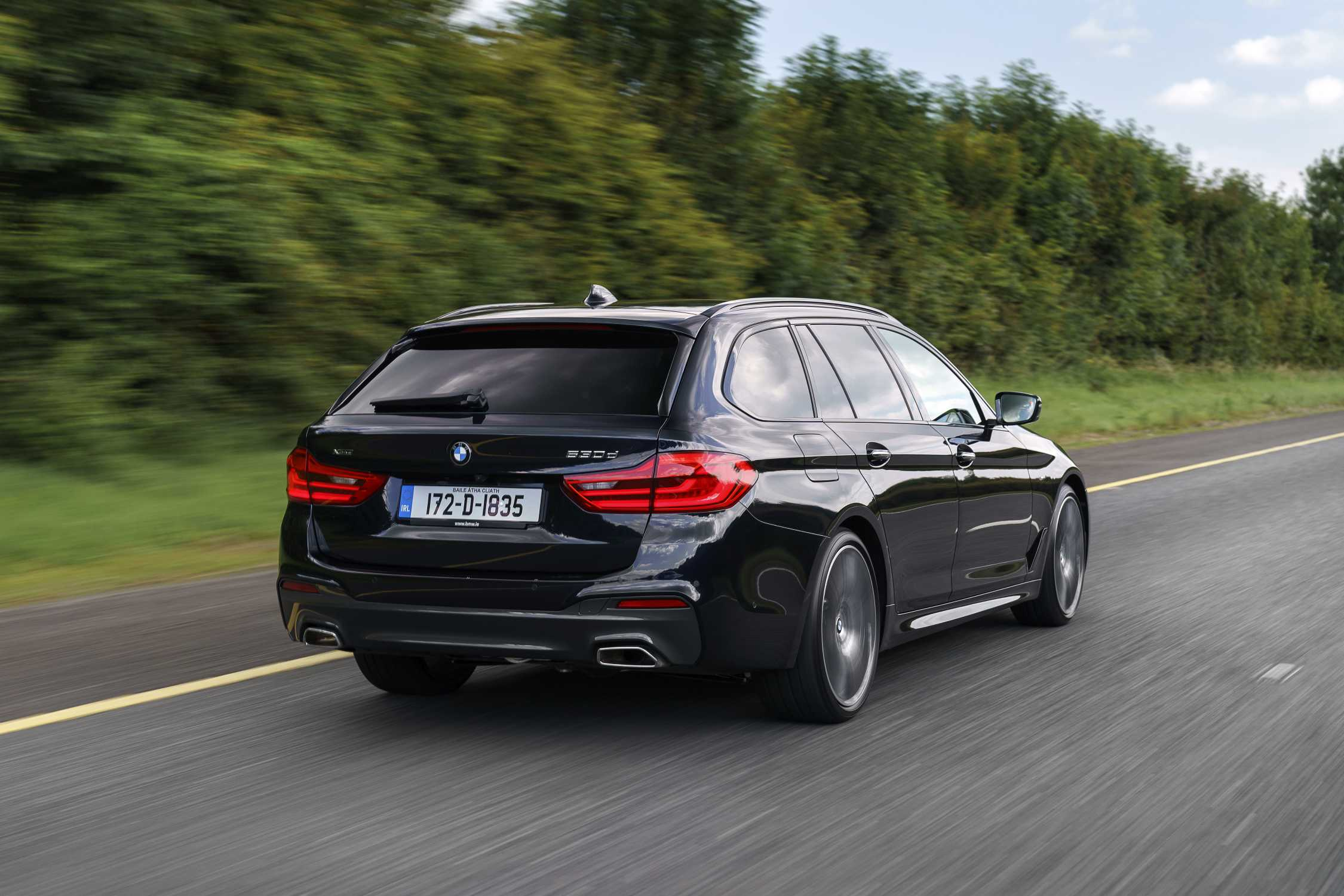 Irish Imagery Of The New Bmw 5 Series Touring 530d Xdrive M