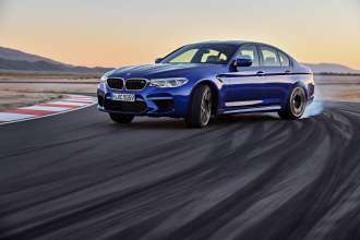 The new BMW M5 (08/2017).