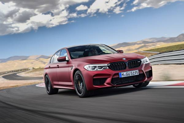 Der BMW M5 First Edition (08/2017).