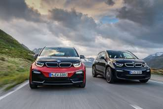 The new BMW i3 and the new BMW i3s. (08/2017)