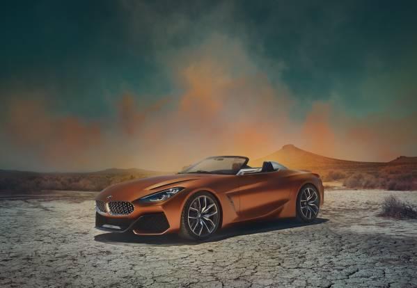 BMW Concept Z4. (08/2017)
