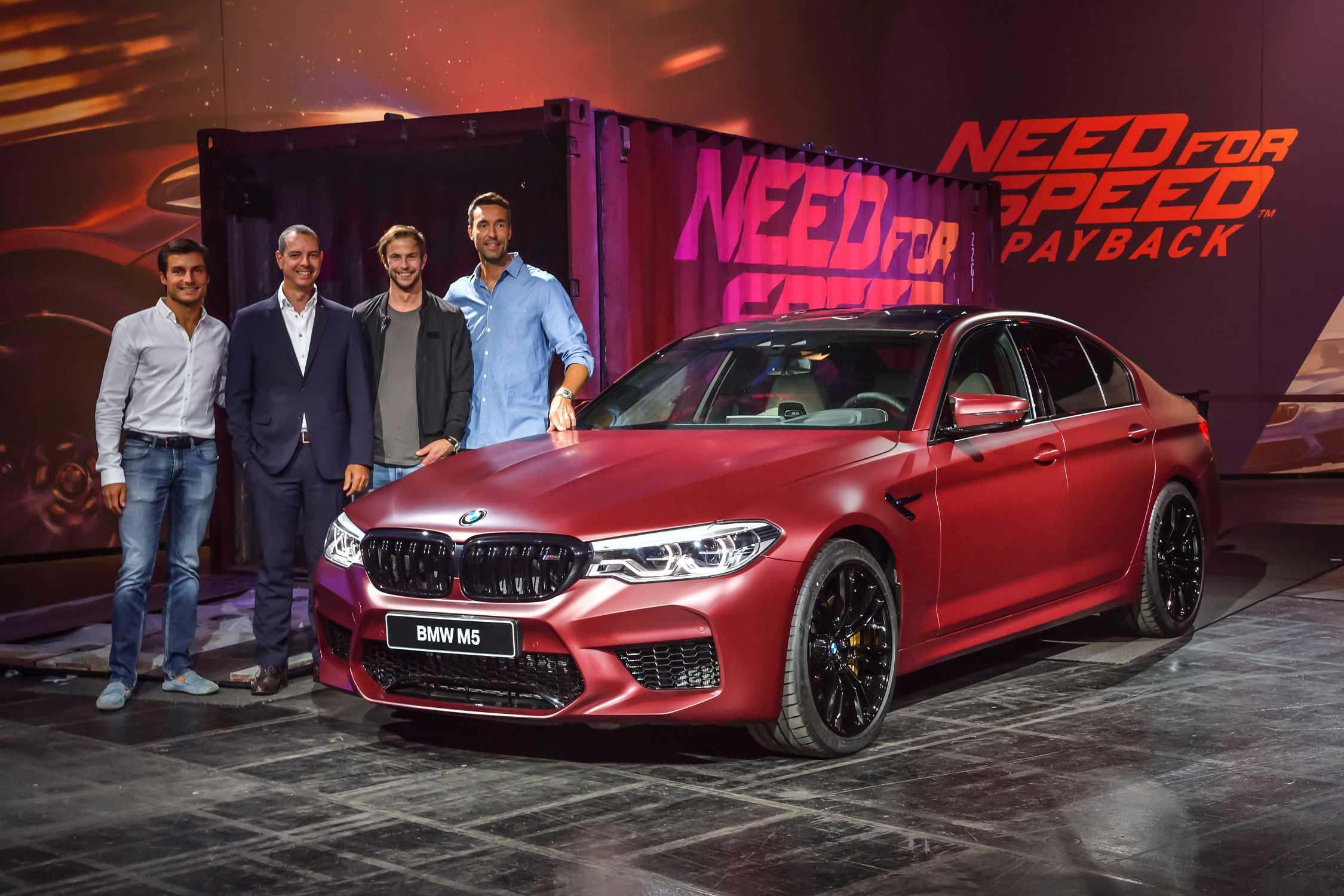 Bruno Spengler, BMW Works Driver, Frank van Meel, President BMW M ...