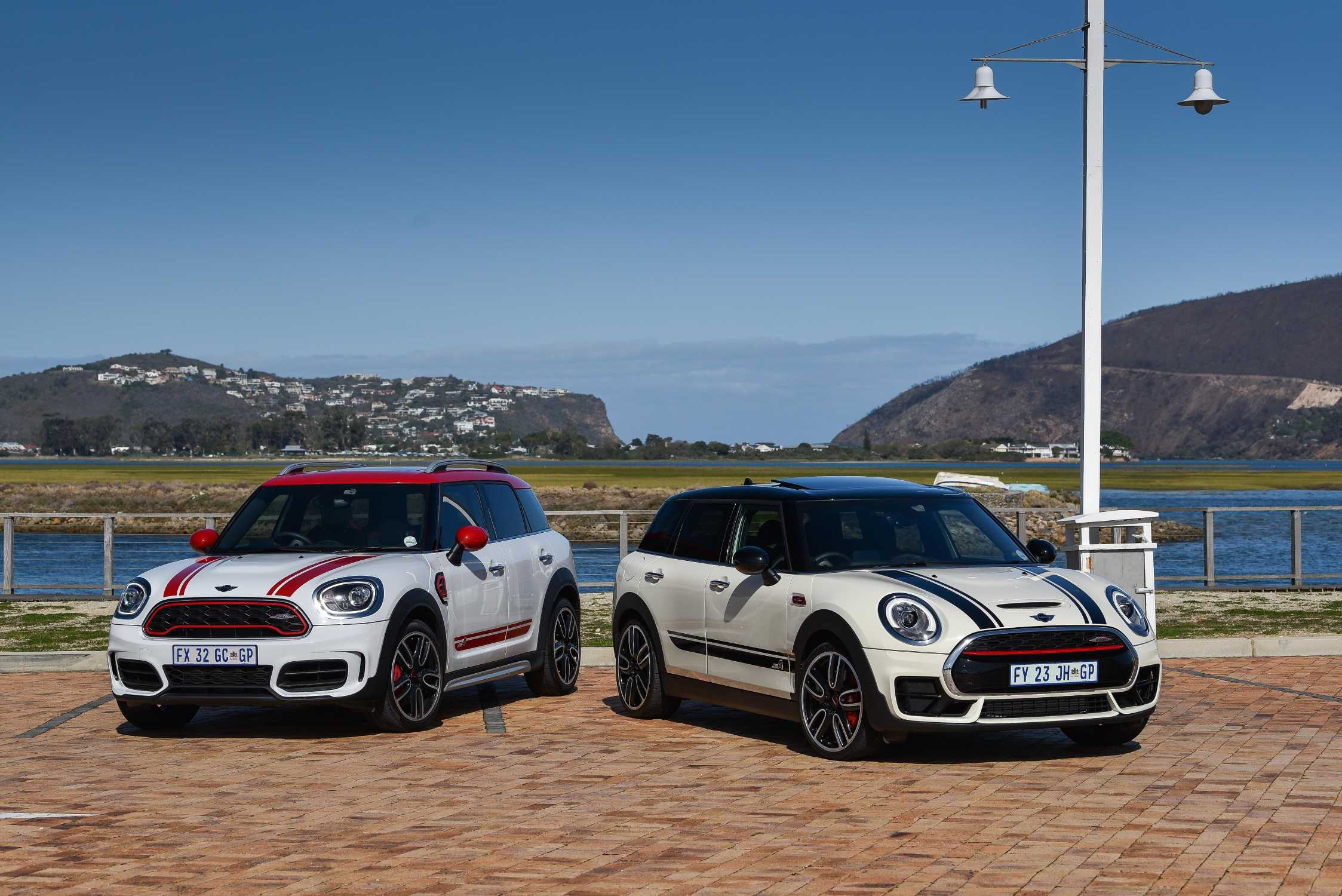on location pictures the new mini john cooper works clubman and countryman all4. Black Bedroom Furniture Sets. Home Design Ideas