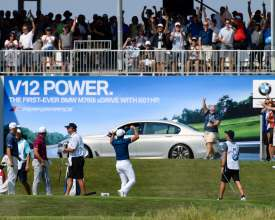 Perfect Day Australian Jason Day Hits An Ace To Win A Bmw M760i And Donates It To The Evans Scholars Foundation