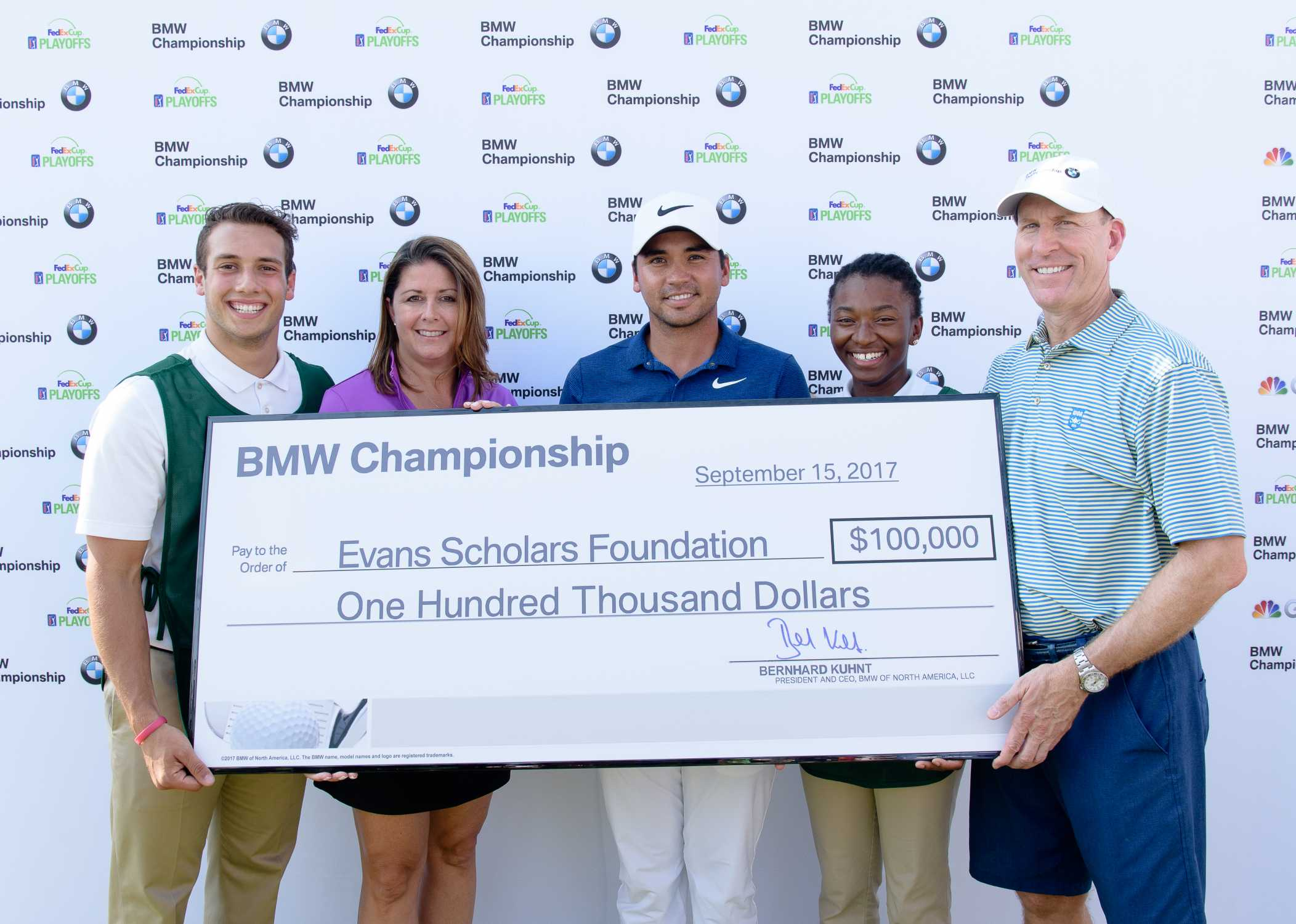 Jason Day Hole-in-One at the 2017 BMW Championship Results