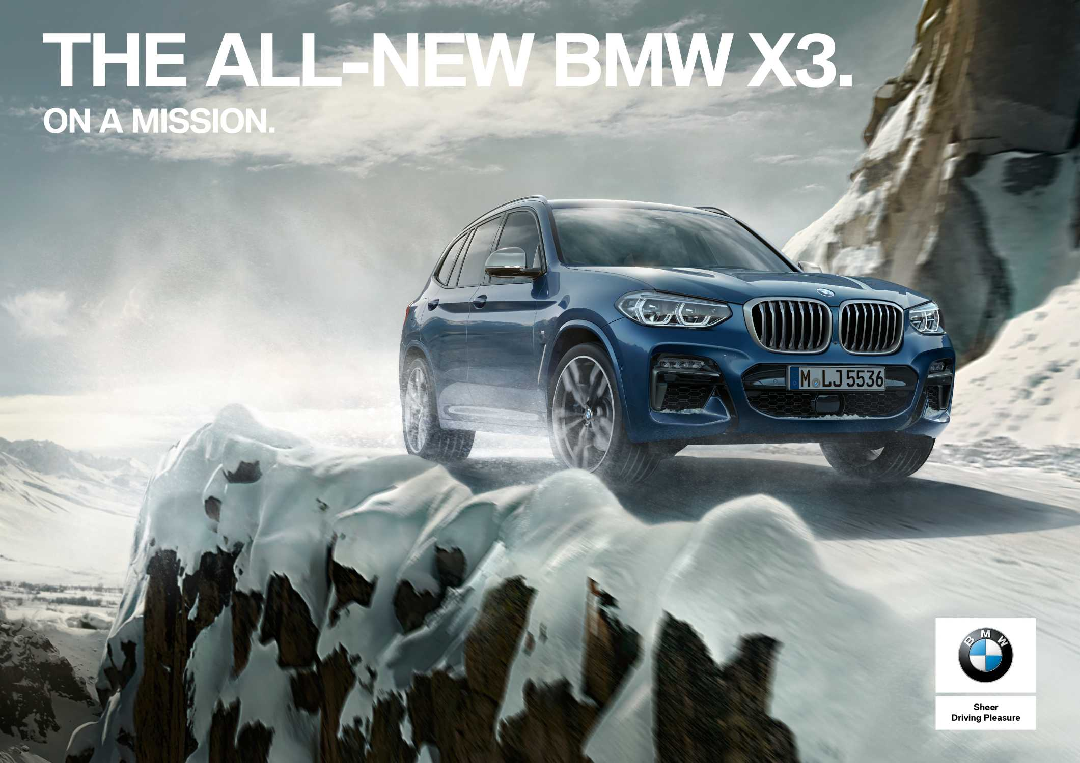 The all-new BMW X3. On a Mission. (09/2017)