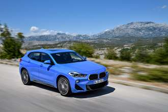 The brand new BMW X2. X2 sDrive20i, M Sport Model (10/2017).