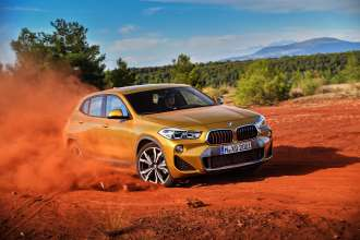 The brand new BMW X2. X2 xDrive20d, Model M Sport X (10/2017).