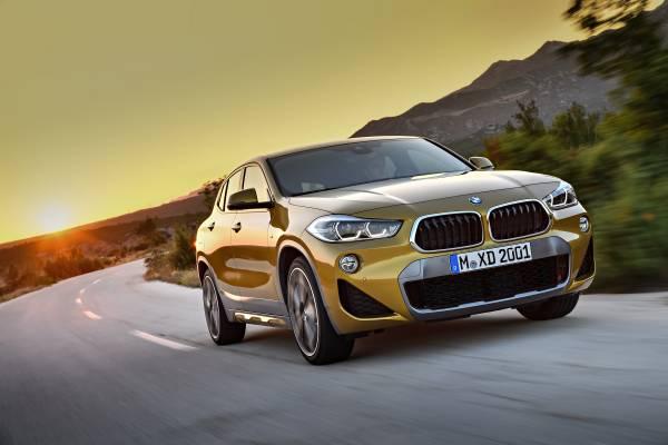 The brand new BMW X2. X2 xDrive20d, Model M Sport X (10/2017).