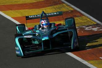 Valencia (ESP), 2nd to 5th October 2017. FIA Formula E Championship. Pre-Season testing. BMW Motorsport, MS&AD Andretti. BMW works driver Tom Blomqvist (GBR).