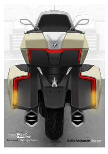 The new BMW K 1600 Grand America