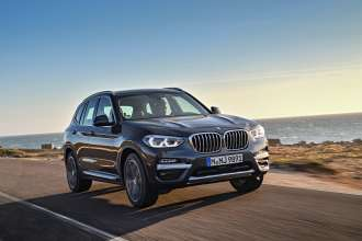 The new BMW X3 xDrive30d, Sophisto Grey Brilliant Effect metallic (10/2017).