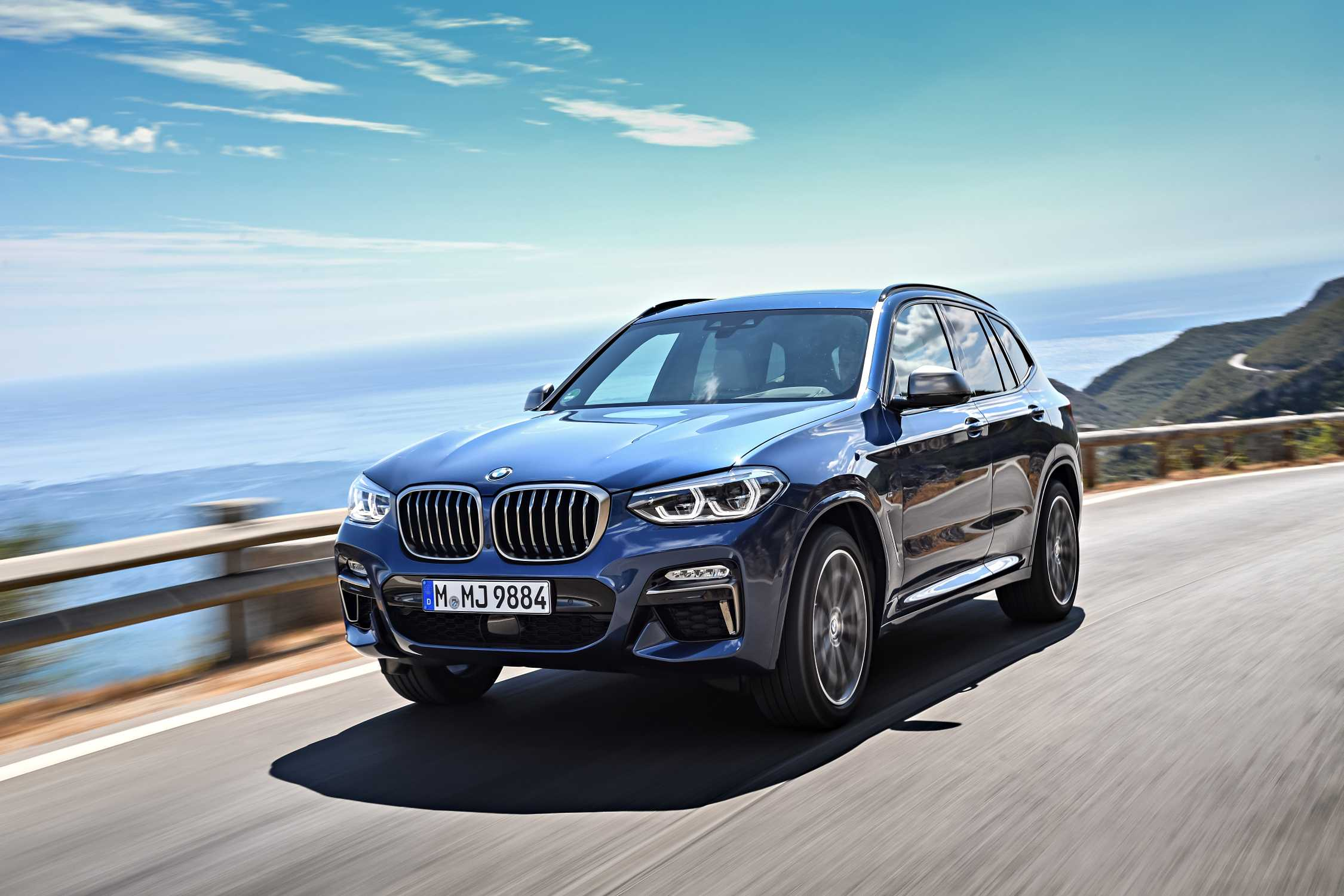 the new bmw x3 m40i phytonic blue 10 2017. Black Bedroom Furniture Sets. Home Design Ideas