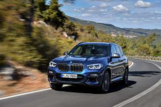 The new BMW X3 M40i, Phytonic Blue (10/2017).