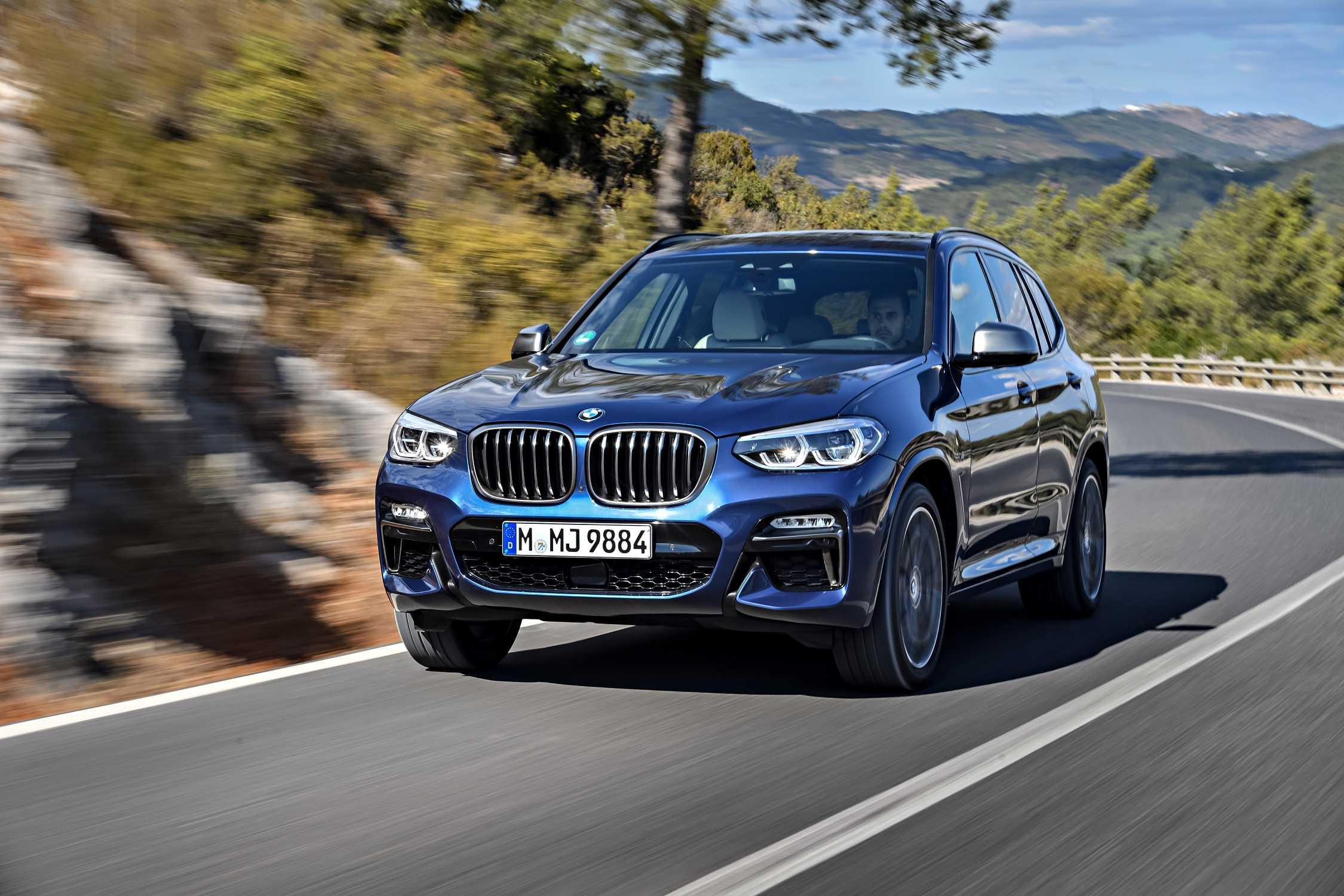 The new BMW X3 M40i, Phytonic Blue (10/2017).