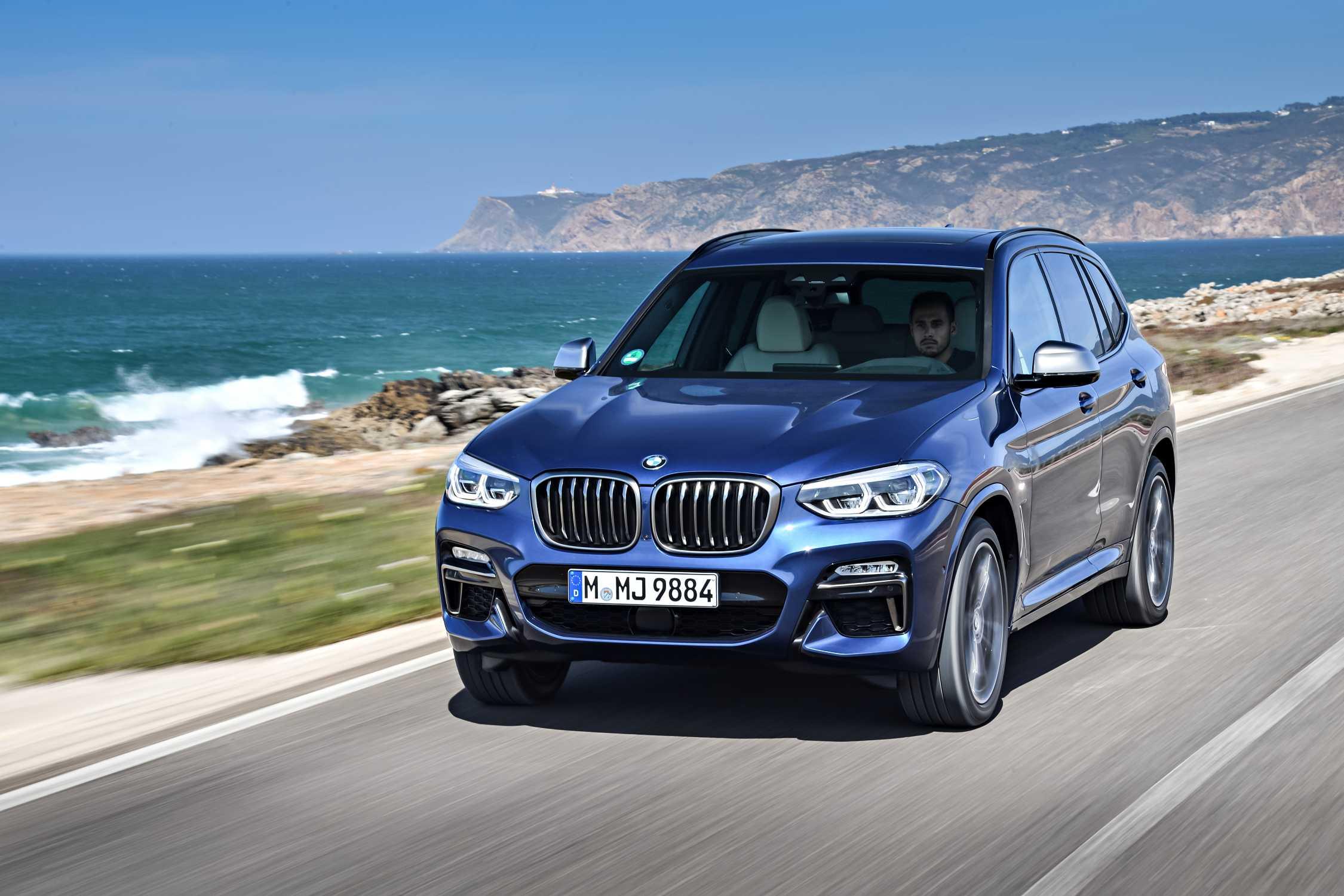 Der neue BMW X3 M40i,Phytonic Blau (10/2017).
